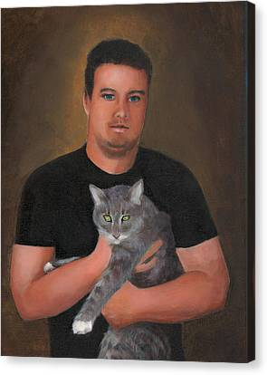 Kyle Canvas Print