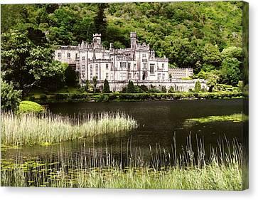 Kylemore Abbey Victorian Ireland Canvas Print