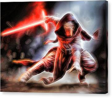 Kylo Ren I Will Fulfill Our Destiny Canvas Print