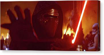 Kylo Ren Canvas Print by Mitch Boyce