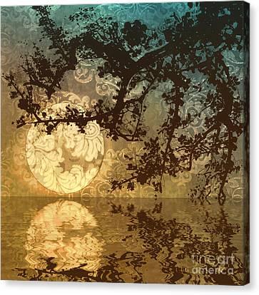 Kyoto Sun Canvas Print