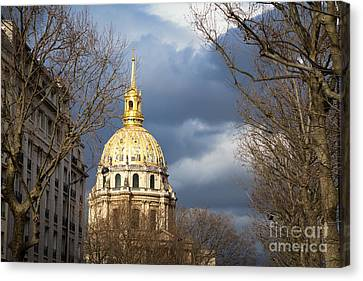 L Hotel National Des Invalides Canvas Print by Jane Rix