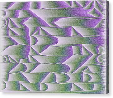 l15-FFC4E7-4x3-2400x1800 Canvas Print by Gareth Lewis