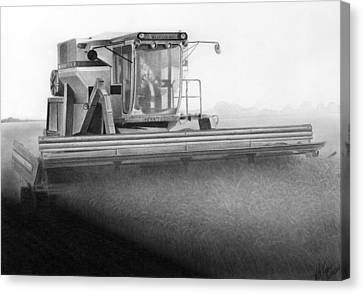 L2 Blues Canvas Print by Lyle Brown