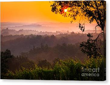 La Bella Toscana Canvas Print