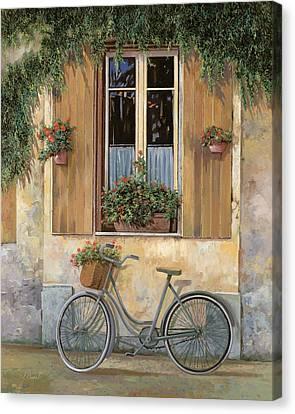 La Bici Canvas Print