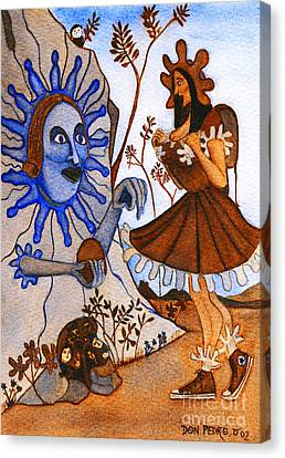 La Boca Della Verita Canvas Print