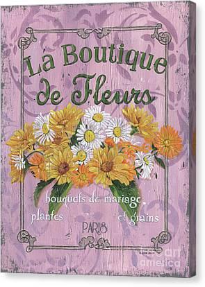 La Botanique 1 Canvas Print by Debbie DeWitt