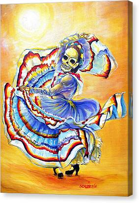 La Bruja Canvas Print by Heather Calderon