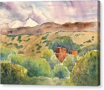 La Cienega Canvas Print
