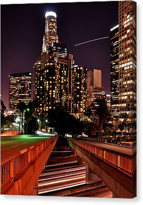 La City Lights Canvas Print