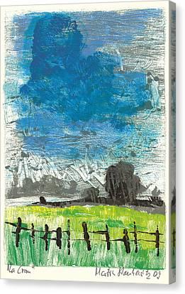 La Crau Canvas Print