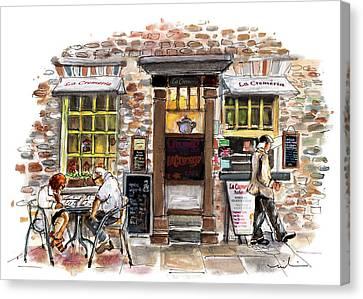 La Cremeria In York Canvas Print