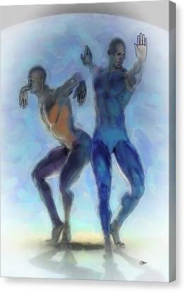 La Danza Obscura Canvas Print by Quim Abella