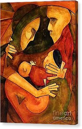 La Familia Canvas Print by Dan Earle
