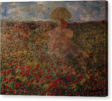 La Femme Du Provence Canvas Print by Penfield Hondros