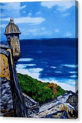 La Forteleza Canvas Print by Liz Borkhuis