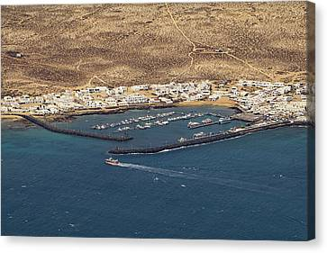 Lanzarote Canvas Print - La Graciosa  by Tony Murtagh