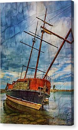 La Grande Hermine 2 - Overlay Canvas Print by Steve Harrington