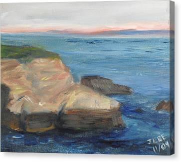 La Jolla Cove 001 Canvas Print