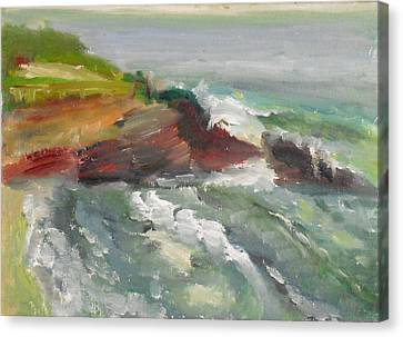 La Jolla Cove 005 Canvas Print