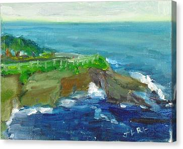 La Jolla Cove 024 Canvas Print