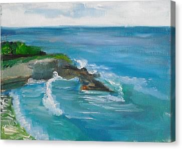 La Jolla Cove 033 Canvas Print