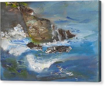 La Jolla Cove 034 Canvas Print