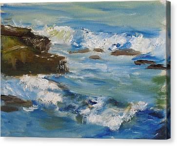 La Jolla Cove 036 Canvas Print by Jeremy McKay