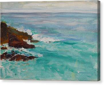 La Jolla Cove 040 Canvas Print