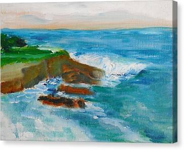 La Jolla Cove 041 Canvas Print