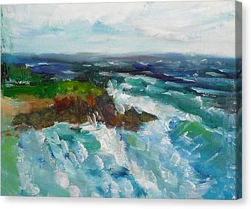 La Jolla Cove 042 Canvas Print
