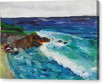 La Jolla Cove 043 Canvas Print