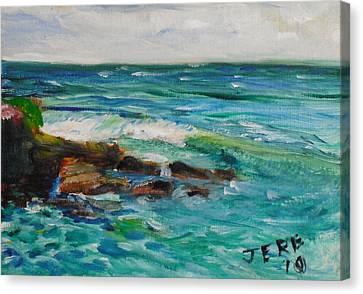 La Jolla Cove 047 Canvas Print