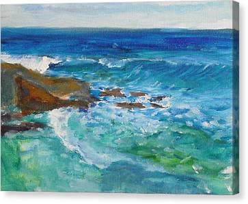 La Jolla Cove 048 Canvas Print