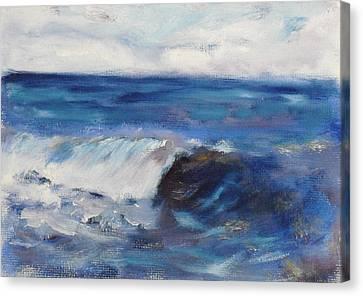 La Jolla Cove 049 Canvas Print