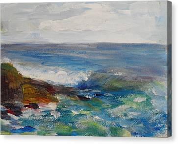 La Jolla Cove 050 Canvas Print