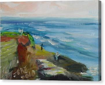 La Jolla Cove 054 Canvas Print