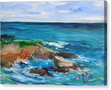 La Jolla Cove 055 Canvas Print