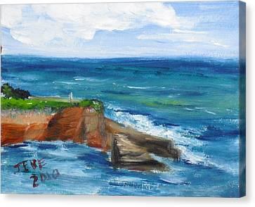 La Jolla Cove 059 Canvas Print