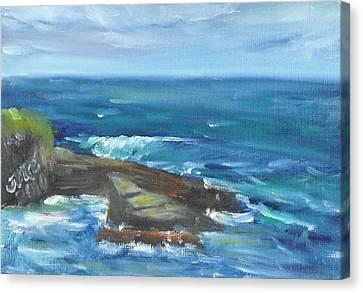 La Jolla Cove 060 Canvas Print