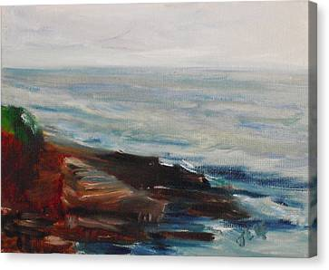 La Jolla Cove 070 Canvas Print by Jeremy McKay
