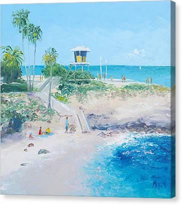 La Jolla Cove San Diego Canvas Print by Jan Matson