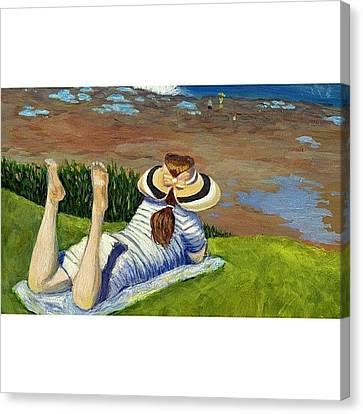 Impressionism Canvas Print - La Jolla by Karyn Robinson