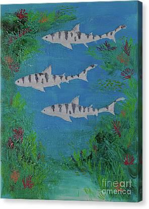 La Jolla Shores Canvas Print by Myron Dong