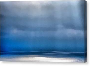 Sun Rays Canvas Print - La Jolla Sunrays On The Ocean by Russ Harris