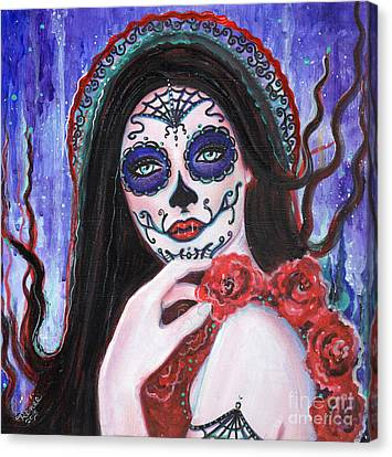 La Llama Canvas Print by Renee Lavoie