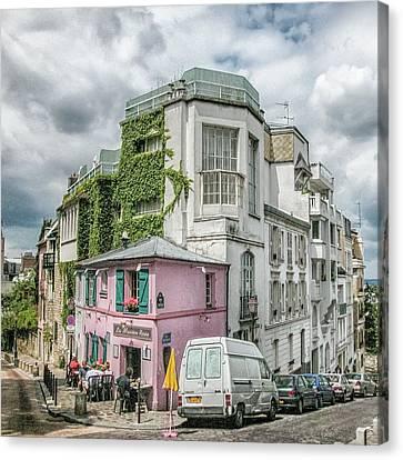 La Maison Rose Canvas Print by Alan Toepfer