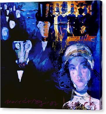 La Marche Canvas Print by Noredin Morgan