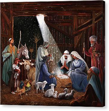 La Nativita' Canvas Print